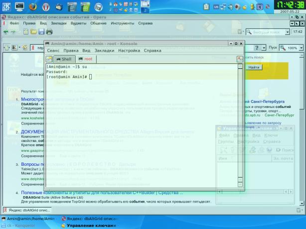 KDE3 Opacity