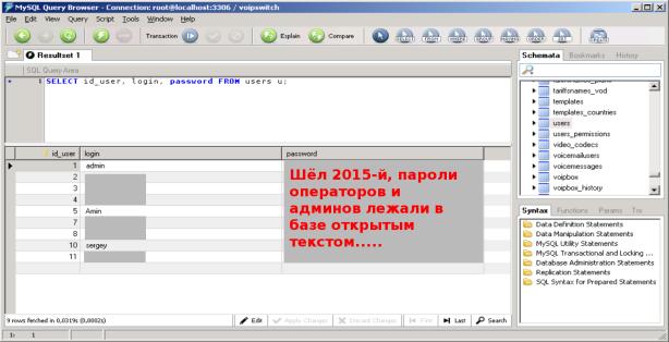 MySQL_Open-Admin-passwords-Voipswitch