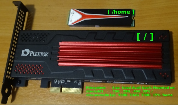 фотка Plextor SSD - M6e и M8PeG