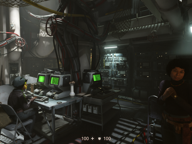 Wolfenstein 2 New Colossus-Hacker Central screenshot